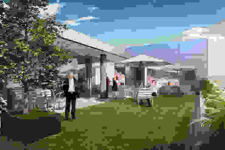 Terraza de Entorno AID Moderno