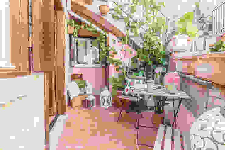 Terrasse de style  par Sapere di Casa - Architetto Elena Di Sero Home Stager, Éclectique