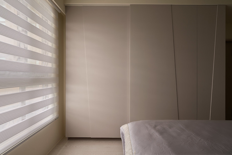 主臥衣櫃設計 根據 趙玲室內設計 工業風