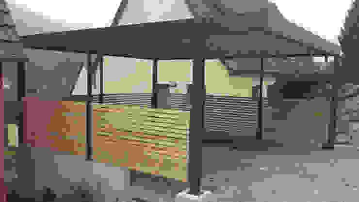 Carport-Schmiede GmbH & Co. KG - Hersteller für Metallcarports und Stahlcarports auf Maß Garages & sheds Besi/Baja Grey