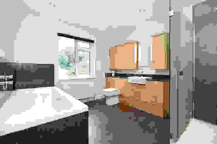 Surrey - Old Woking:  Bathroom by Corebuild Ltd,