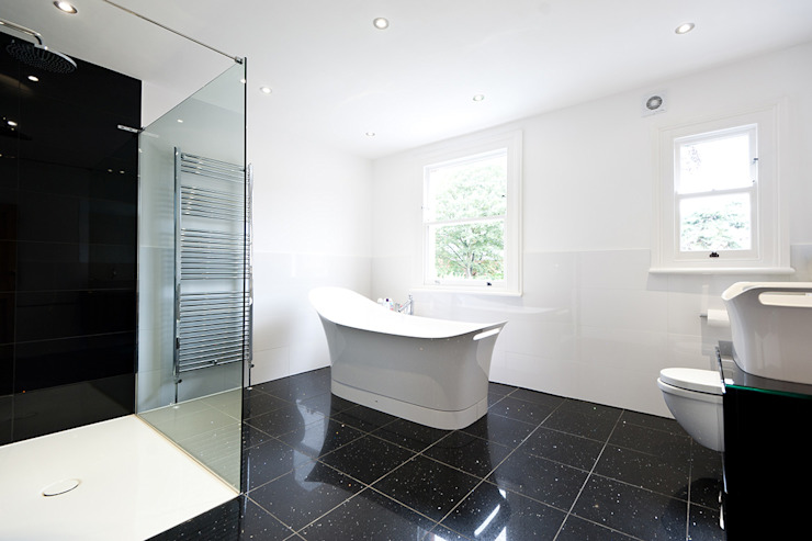 Surbiton:  Bathroom by Corebuild Ltd,
