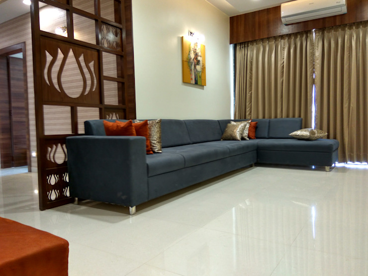 Living room: minimalist  by Less is MORE -Architects & Interior designer,Minimalist