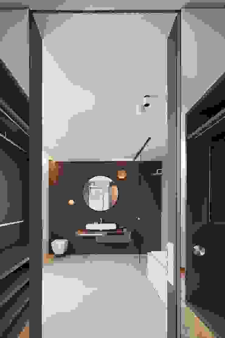 innenarchitektur-rathke Ванна кімната Плитки Сірий