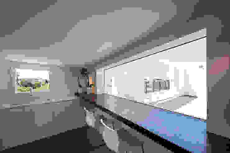 Mansarda T Laboratorio di Progettazione Claudio Criscione Design Cucina moderna