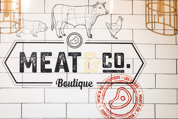 MEAT & CO TILES by MAR STUDIO Eclectic