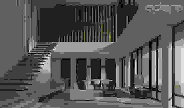 Citra H5D 57 Oleh Adara Architects Modern Beton Bertulang