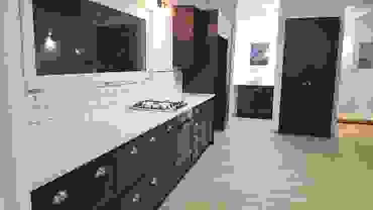 Kleinmond Holiday Home by Cape Kitchen Designs Modern MDF