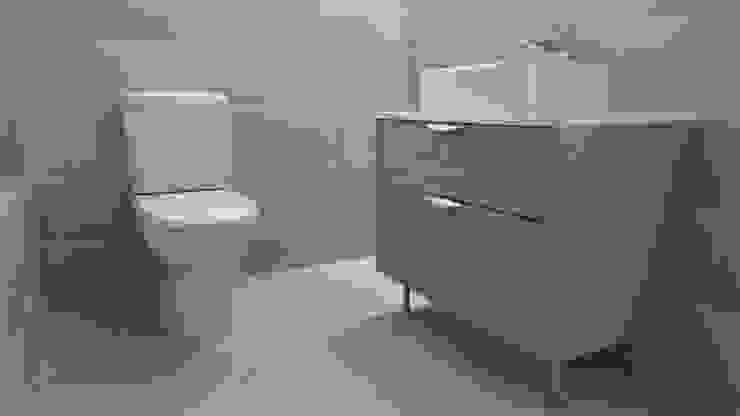 Custom Made Bathroom Cabinets Modern bathroom by Cape Kitchen Designs Modern MDF