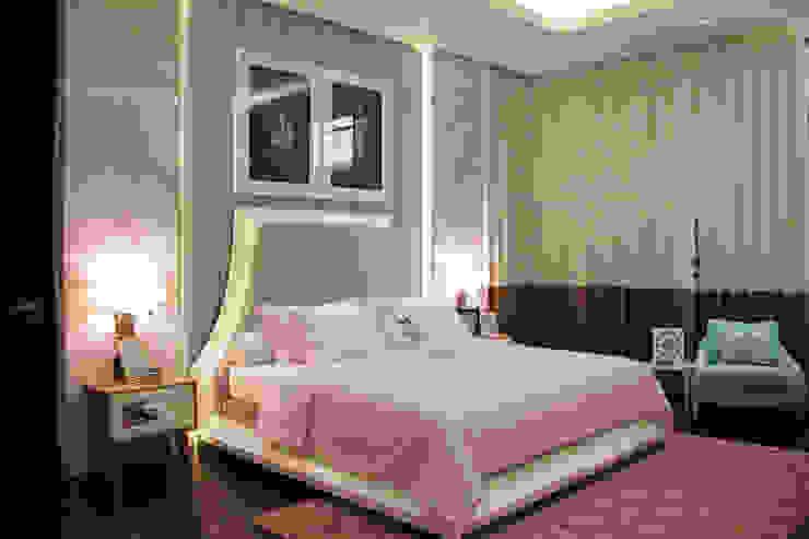 BS RESIDENCE Kamar Tidur Modern Oleh ALIGN architecture interior & design Modern