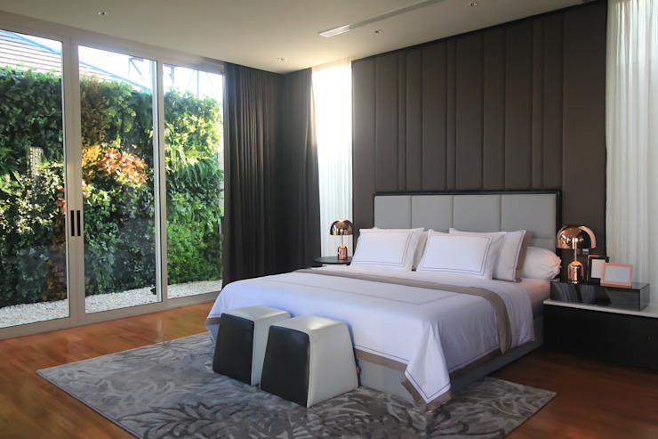 Tropical style bedroom by ALIGN architecture interior & design Tropical