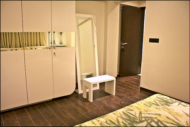 La tierra,Pune Modern style bedroom by H interior Design Modern