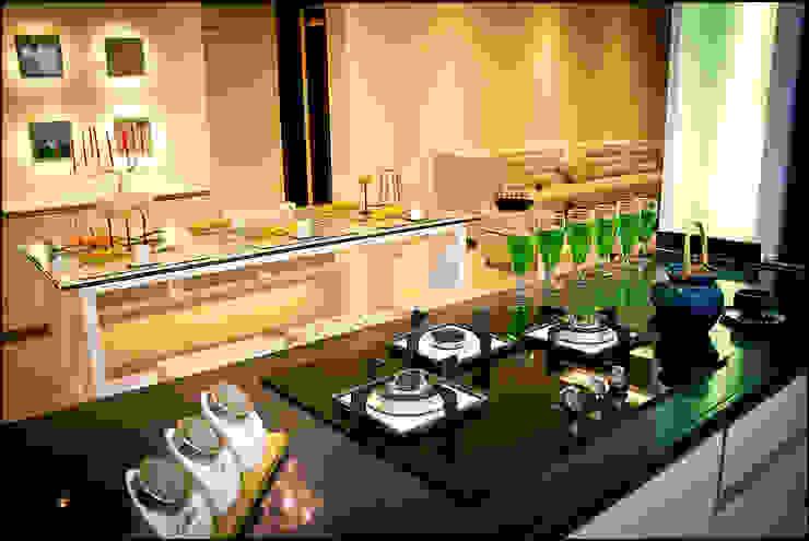 La tierra,Pune Modern kitchen by H interior Design Modern