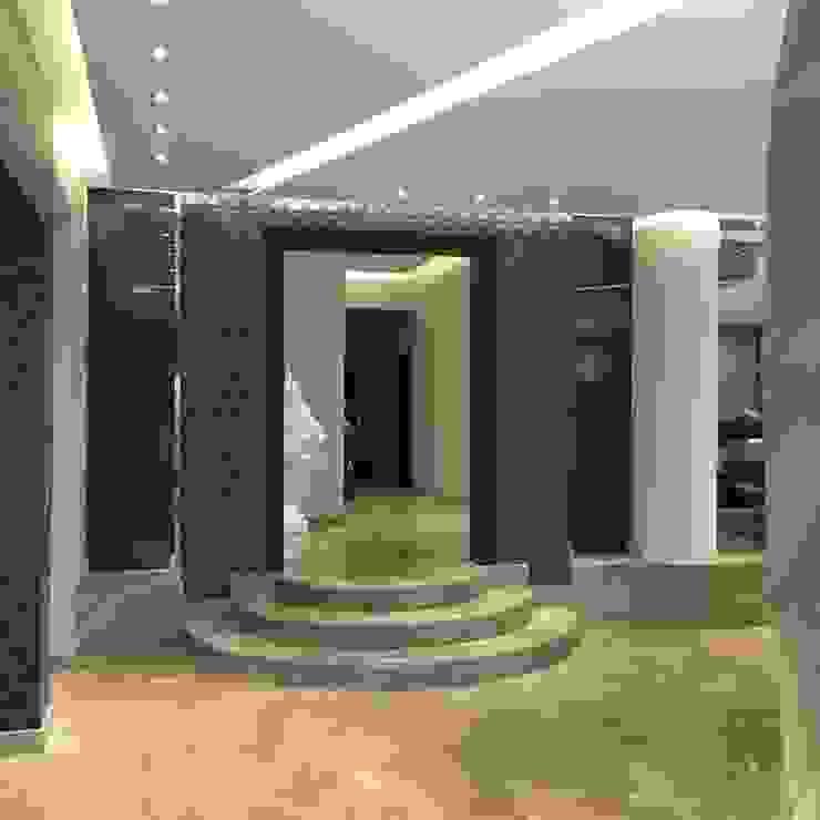 فيلا بالتجمع الخامس – القاهرة الجديدة: حديث  تنفيذ POINT Design., حداثي