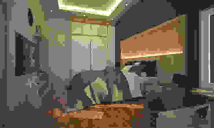 Modern Yatak Odası Pencil Creative Design Modern Ahşap Ahşap rengi