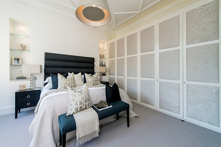 Drayton Gardens Modern Bedroom by Maxmar Construction LTD Modern