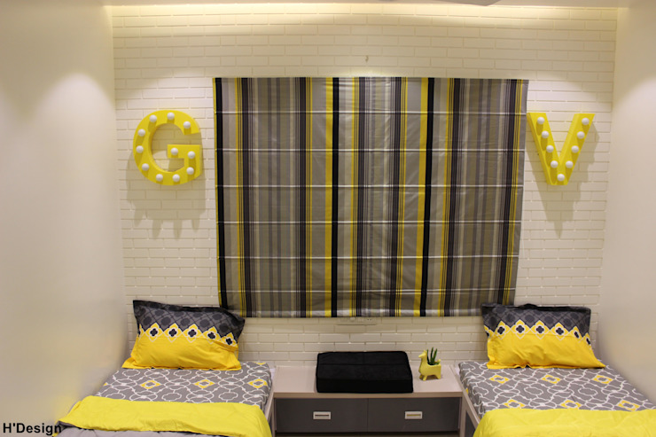 Mystic Moods,Pune Modern style bedroom by H interior Design Modern