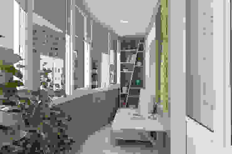 Puertas y ventanas minimalistas de Студия дизайна и декора Светланы Фрунзе Minimalista