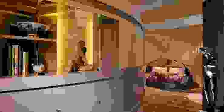 ESTRO - la corte studio lenzi e associati Camera da letto eclettica
