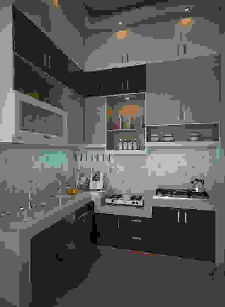 Desain Kitchen Set Oleh CNDR. Studio Minimalis