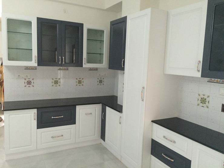 Kitchen for independent house in indiranagar by BELLEVIVENTE