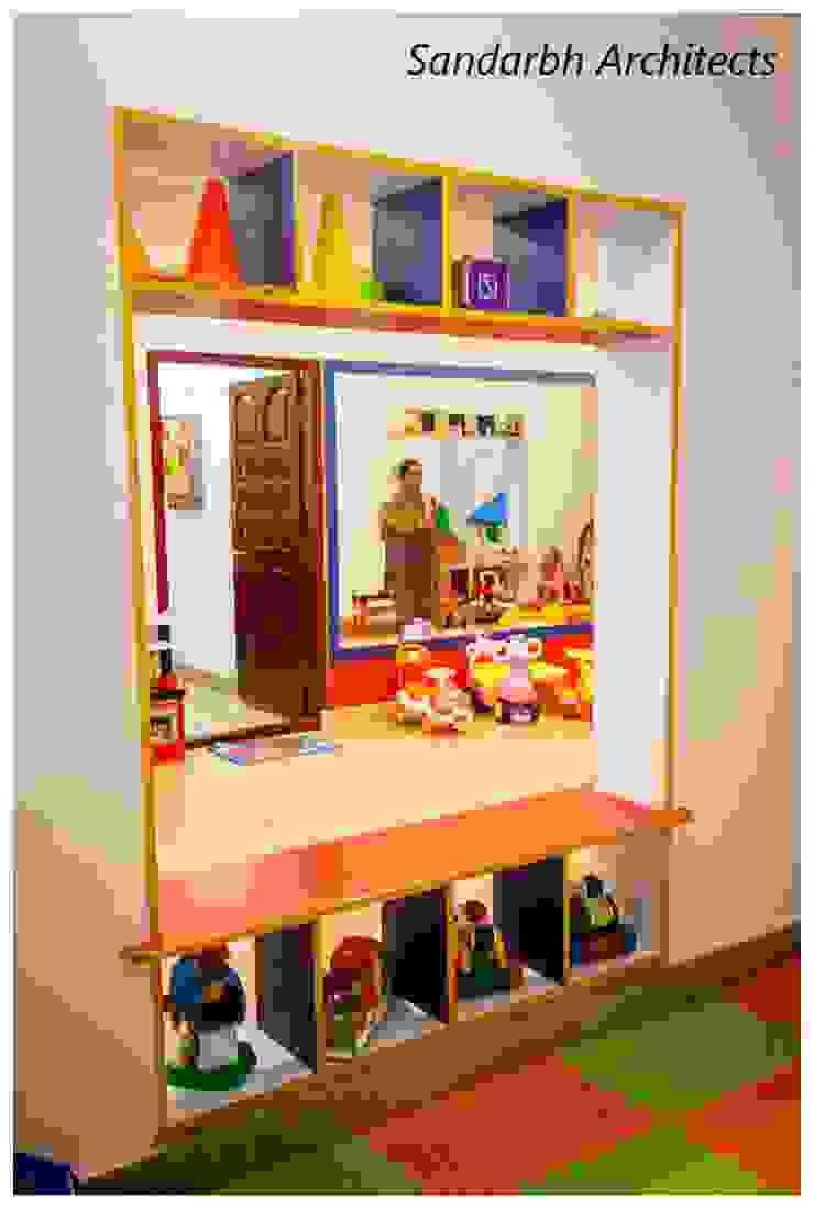 Wacky house Eclectic style schools by Sandarbh Design Studio Eclectic