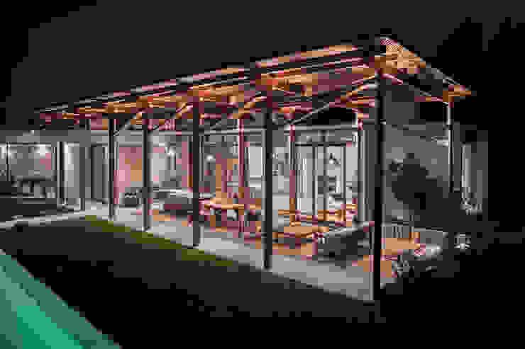 Casa Terraza Livings de estilo moderno de Dx Arquitectos Moderno