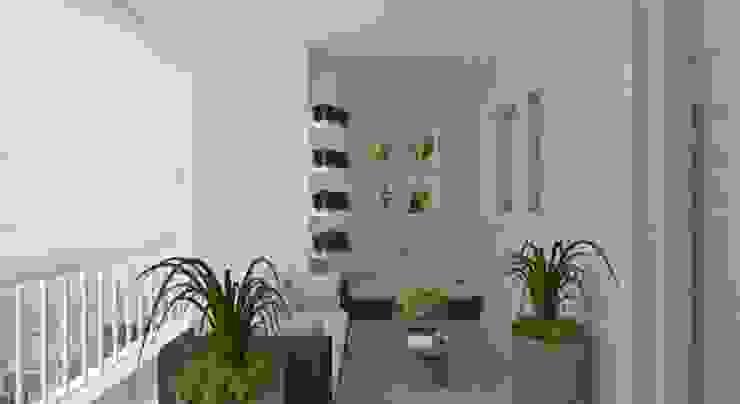 Elaine Orosco Rustic style conservatory Engineered Wood Beige