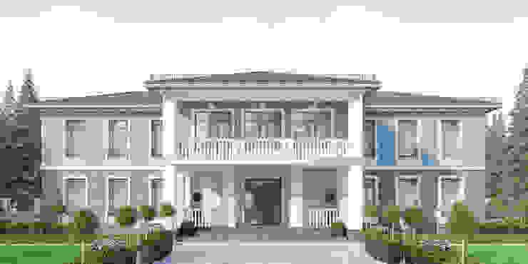 needsomespace Rumah pedesaan Batu Bata Blue