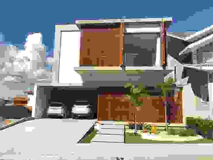 Rumah Modern Oleh Aoki Arquitetura Modern
