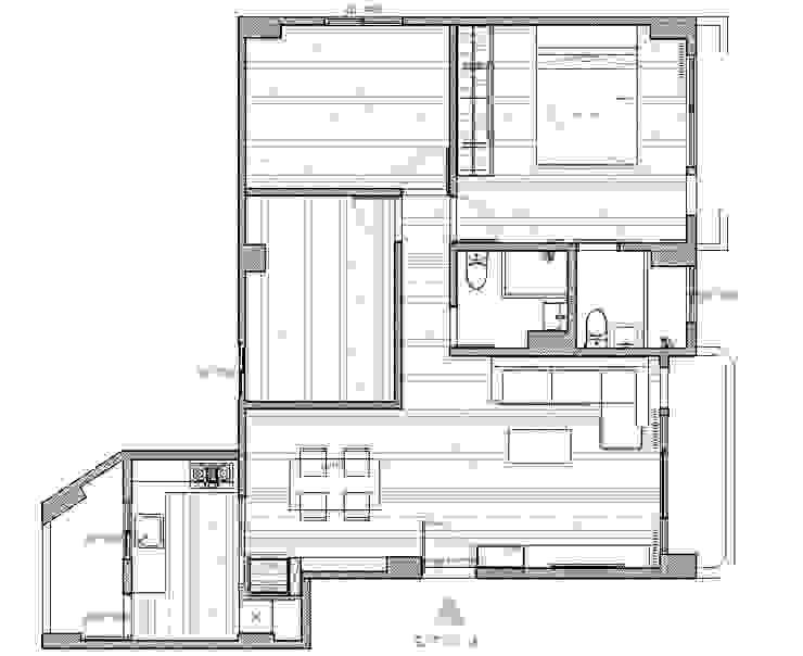 平面配置圖 根據 寬軒室內設計工作室