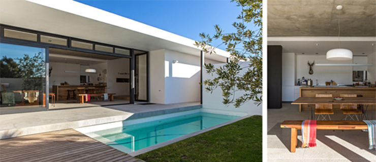 Minimalist houses by Grobler Architects Minimalist
