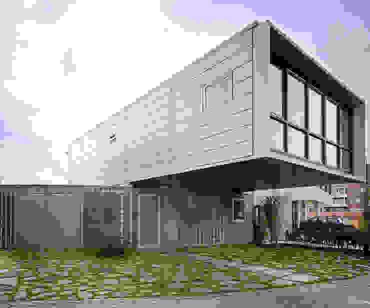 Archipelontwerpers Prefabricated home Iron/Steel