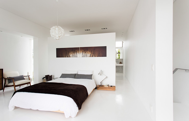 Bedroom by Grobler Architects, Minimalist