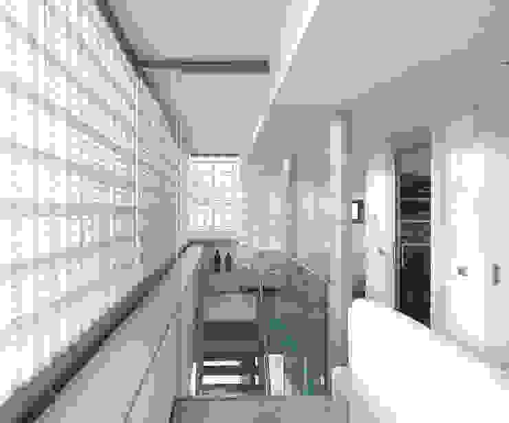 Salas de estar modernas por Archipelontwerpers Moderno