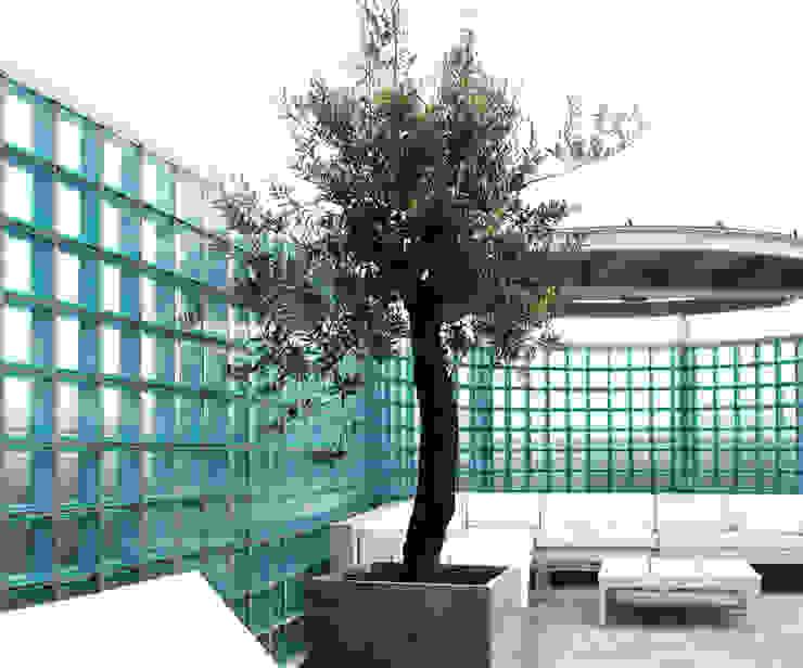 Penthouse Nautilus – Scheveningse Haven Industriële balkons, veranda's en terrassen van Archipelontwerpers Industrieel Glas