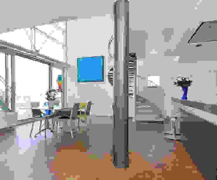 Penthouse Nautilus – Scheveningse Haven Industriële woonkamers van Archipelontwerpers Industrieel