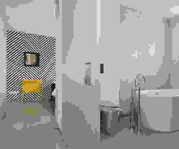 Penthouse Nautilus – Scheveningse Haven Industriële badkamers van Archipelontwerpers Industrieel