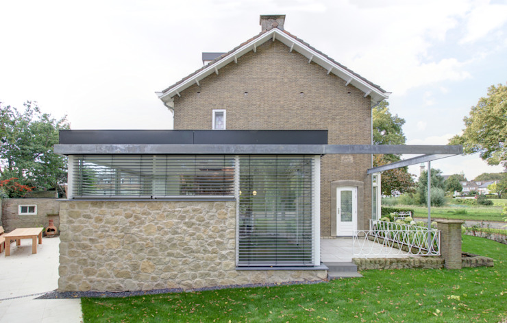 woonhuis R te Maastricht Moderne huizen van CHORA architecten Modern