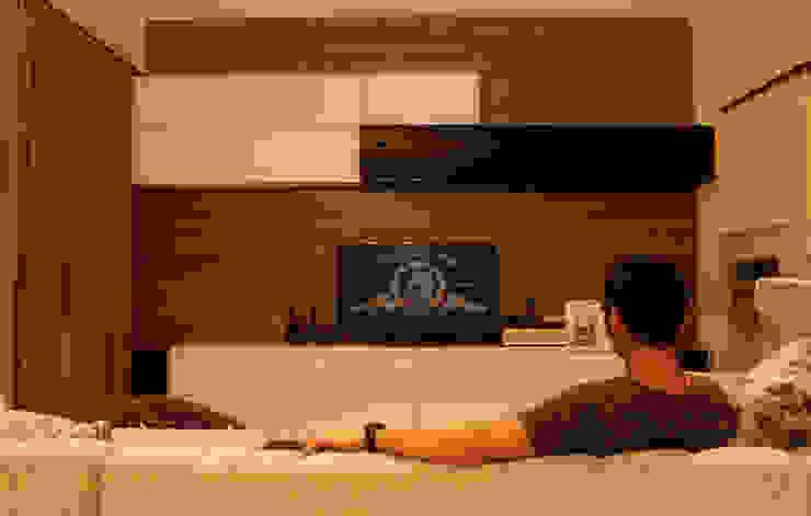 Prambanan Residence Kertabumi:modern  oleh KOMA living interior design, Modern Kayu Wood effect
