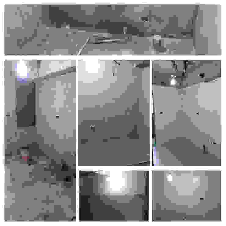 泥作 根據 寬軒室內設計工作室