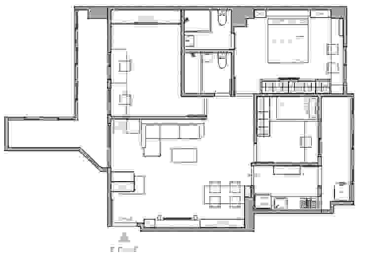 配置圖 根據 寬軒室內設計工作室
