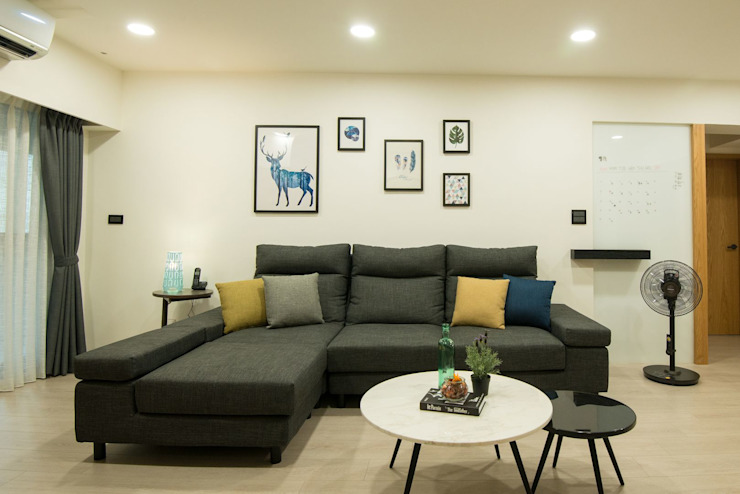 沙發 根據 寬軒室內設計工作室