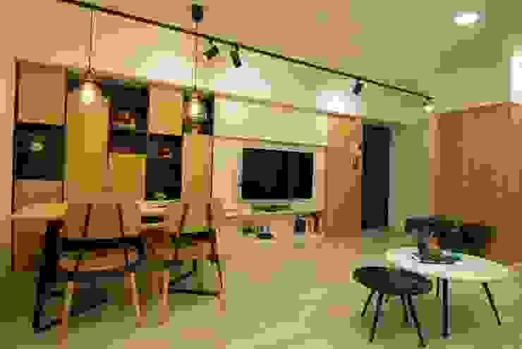 客廳 根據 寬軒室內設計工作室