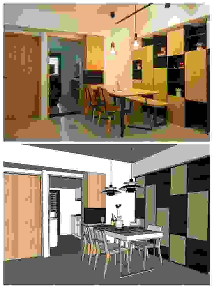 3D對比圖 根據 寬軒室內設計工作室