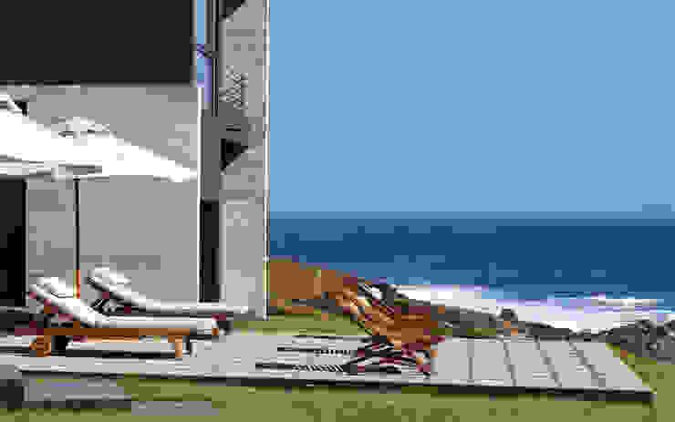 Casa Rabanua Balcones y terrazas modernos de Dx Arquitectos Moderno