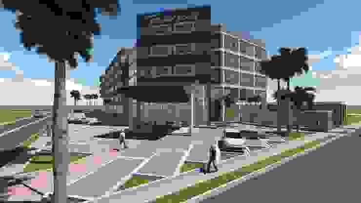 HOTEL BOLIVAR PLAZA *** de GMS ARQUITECTOS, C.A. Moderno
