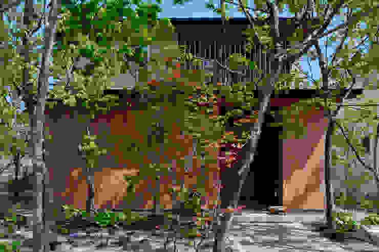 根據 水野建築研究所 隨意取材風 實木 Multicolored