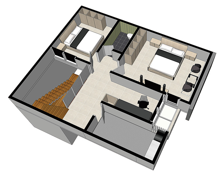 floorplan Oleh ilalangcorp