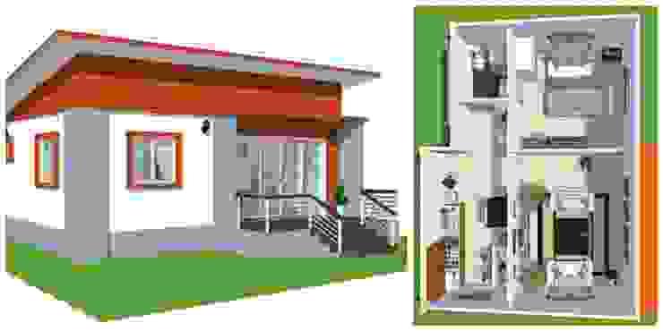 2 casas peque as y econ micas con sus planos - Casas muy pequenas ...